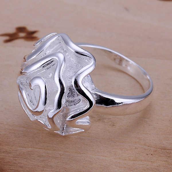 R005ยอดเงินชุบคุณภาพและประทับ925 wonderfundกุหลาบแท็กแหวนสำหรับผู้หญิงหญิงวิจิตรjewerlyขายส่ง2015ใหม่มาถึง