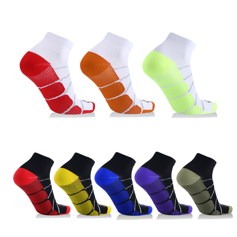 Best Foot Athletic Medical for Men & Women Plantar Fasciitis Arch Support Low Cut Running, Travel, Nurses Gym Compression   Socks