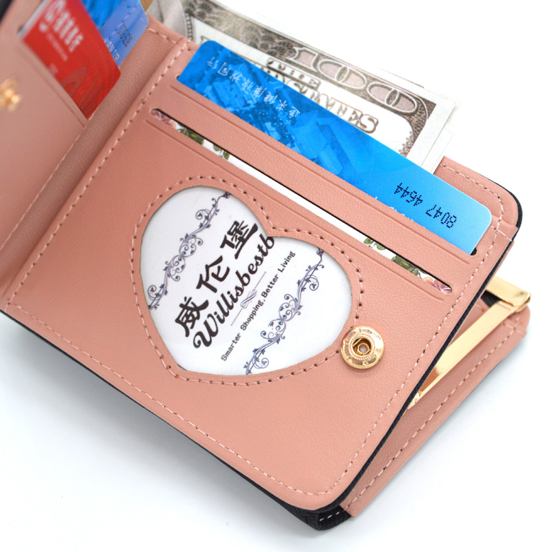 New Woman Wallet Small Hasp Coin Purse For Luxury Brand Lady Purses Female Wallets Women Mini Leather Clutch Card Holder #6