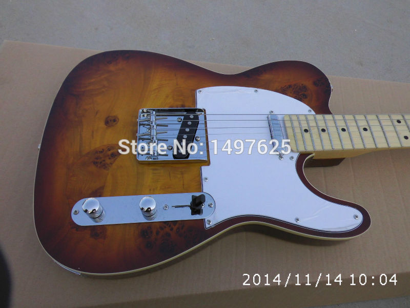 Free shipping new guitarra fen tl honeyburst color electric guitar /maple flame top/guitar in chinaFree shipping new guitarra fen tl honeyburst color electric guitar /maple flame top/guitar in china