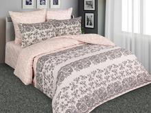 Комплект постельного белья полутораспальный Amore Mio, персиковый, с узором