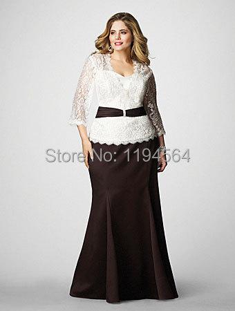 Vestidos para madrina de boda talla grande