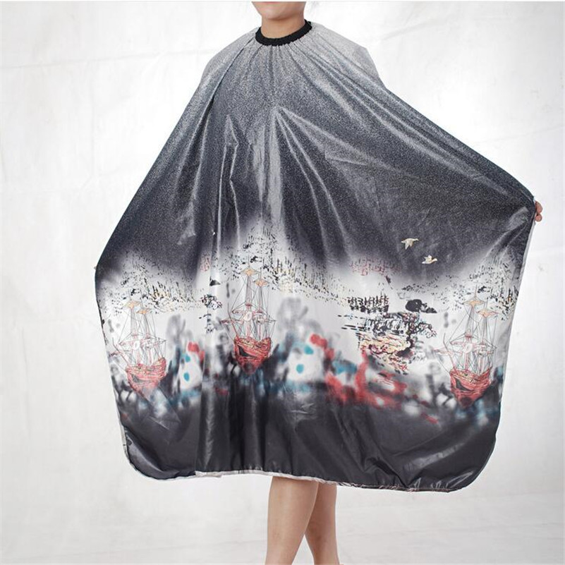 Salon Barber Gown Cape 1PCS Adult Hairdressing Hairdresser Hair Cutting Aprons Cloth Hair Accessories Tools 6