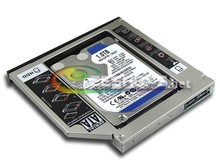New for HP Elitebook 8460p 8530w 8470p 8760w 8570w 2nd 1TB 1 TB 2.5″ HDD Second Hard Disk Drive DVD Optical Bay ReplacementCase