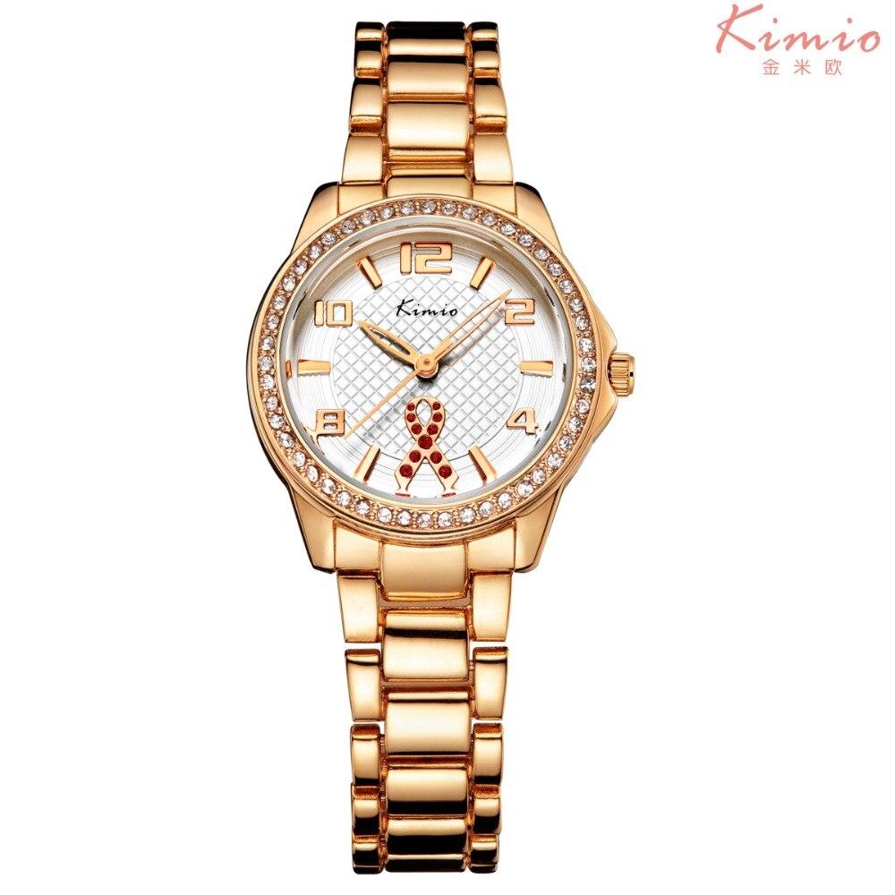 2017 Kimio Elegant Women Watches Ladies Diamond Luxury Brand Slim Bracelet Wristwatch Silver Gold Quartz-watch Relogio Feminino цена 2017
