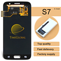 2016 5pcs Original For Samsung Galaxy S7 G9300 Lcd Display With Touch Digitizer Assembly - White/blue/gold,free Dhl Shipping
