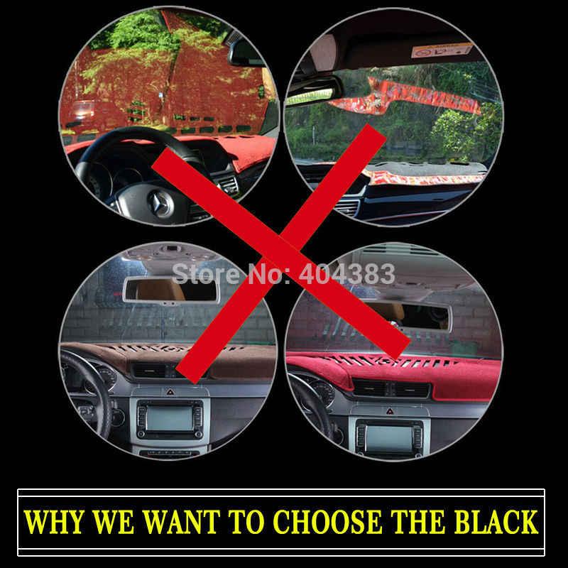 Tapis de couverture de tableau de bord de voiture pour Nissan old TIIDA 2004-2011 ans