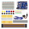 Smart Electronics Starter Kit Uno R3 Mini Breadboard LED Jumper Wire Button For Arduino Diy Kit