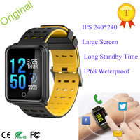 1.3 inch IPS 240*240 Large Color Screen Heart Rate Smart Watch Wearable Devices Waterproof Bluooth4.0 For iPhone&Android