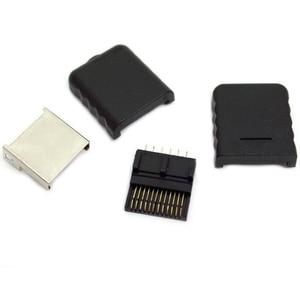 Image 2 - 20pcs באיכות גבוהה הרבה לחבר יציאת שקע ממשק מחבר חריץ עבור PS2 AV כבל