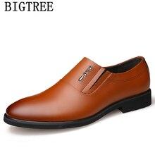 0d3ba836d الايطالية أحذية الرجال أنيقة الرسمي أحذية الرجال الكلاسيكية coiffeur الرجال  اللباس أحذية جلدية الايطالية الفاخرة العلامة