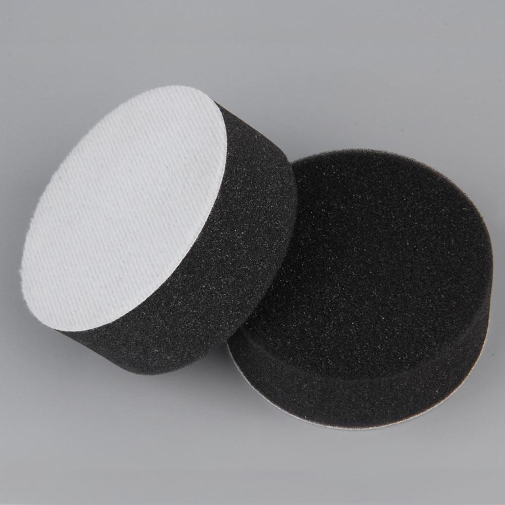 7 шт. 8 см набор полировальных подушек для авто комплект для полировки колес автомобиля буфер с адаптером для дрели автомобиль удаляет царап...