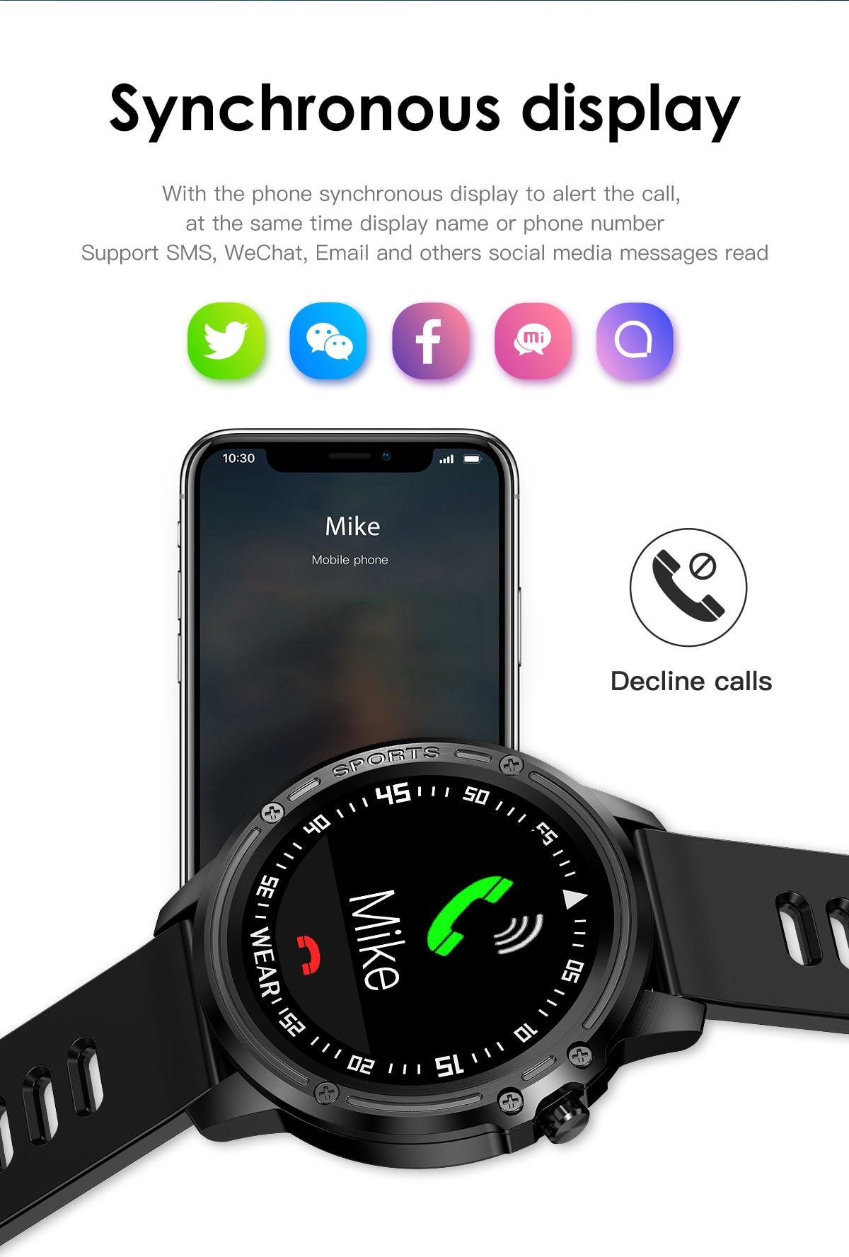 lemfo l8 smartwatch schrittz hler sport watch f r android. Black Bedroom Furniture Sets. Home Design Ideas