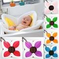 Baby Blooming Bath Flower Bathtub Mat Bath Cushion Infant Newborn Bath For Baby Blooming Sink Infant Shower Seat Accessories