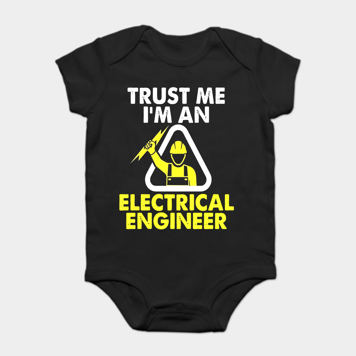 Baby Onesie Baby Bodysuits Kid T Shirt Funny Novelty Trust Me I'm An Electrical Engineer Shirt Electrician Tee Cool Diversified Latest Designs