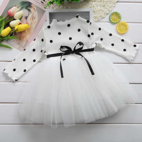 0-4T Kid Girls Princess Baby Dress Newborn Infant Baby Girl Clothes Bow Dot Tutu Ball Gown Party Dresses Baby Kid Girl clothes Multan
