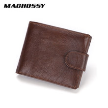 Brand Men Wallets Genuine Leather Short Coin Purse Fashion Hasp Wallet For Male Portomonee with Card Holder Photo Holder kangaroo kingdom fashion luxury genuine leather women wallets brand hasp lady short purse card holder wallet