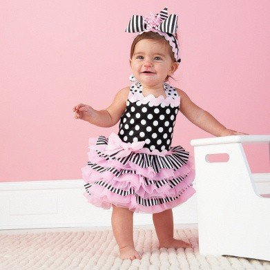 pink court cake baby dress in dresses from mother kids on