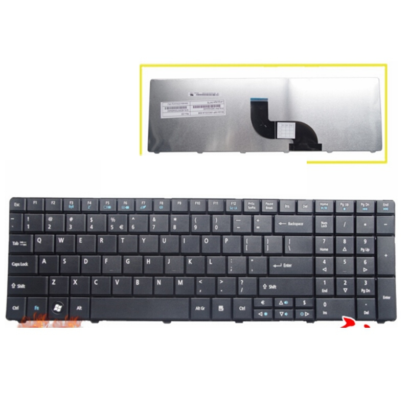 English New Keyboard FOR Acer for Aspire E1 521 531 571 E1-521 E1-531 E1-531G E1-571 E1-571G 5536 5536G US laptop keyboardEnglish New Keyboard FOR Acer for Aspire E1 521 531 571 E1-521 E1-531 E1-531G E1-571 E1-571G 5536 5536G US laptop keyboard