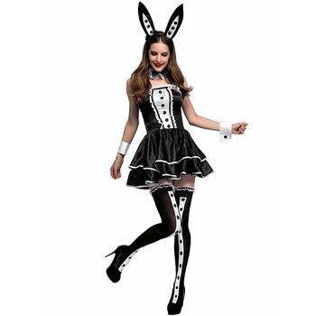 90c2a48bf81d Disfraz de Halloween disfraz de cosplay de Navidad disfraz de fiesta de pub  disfraz de conejito sexy ...