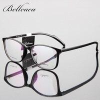 Bellcaca Spectacle TR90 Frame Eyeglasses Men Women Computer Optical Glasses Myopia Frame For Male Transparent Clear