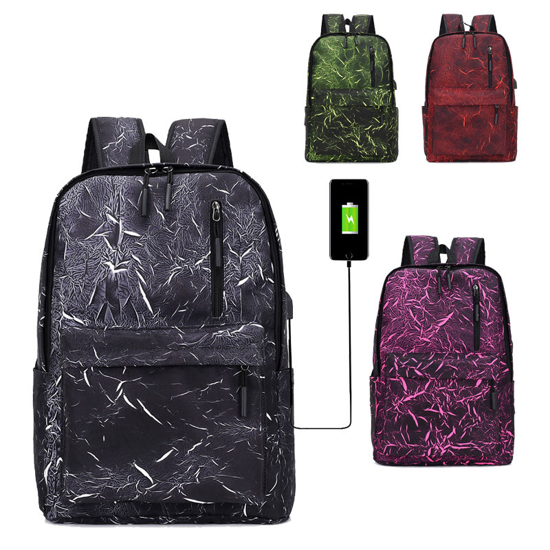 High Quality New Casual Laptop Travel Backpack For Men Waterproof School Bag Fashion Men 39 s Bags Unisex Notbook Backpack Bookbags in Backpacks from Luggage amp Bags