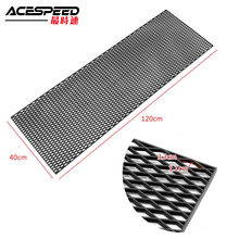 Universal Racing Honeycomb Mesh Grill Bumper Vent 120cm 40cm Air Intake Spoiler Meshed Grille