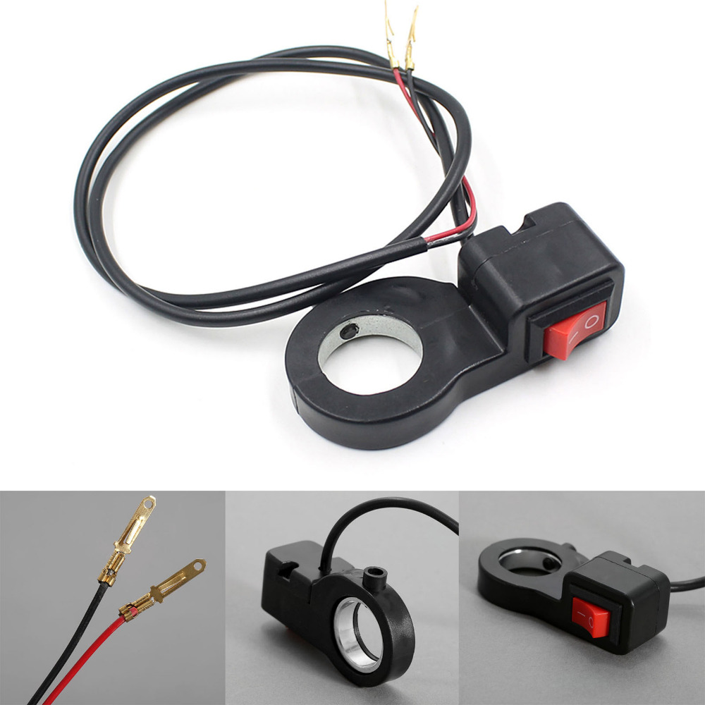 small resolution of universal motorcycle 7 8 inch handlebar headlight electrical start on off kill switch dirt bike scooter fog spot on off switch in motorcycle switches from