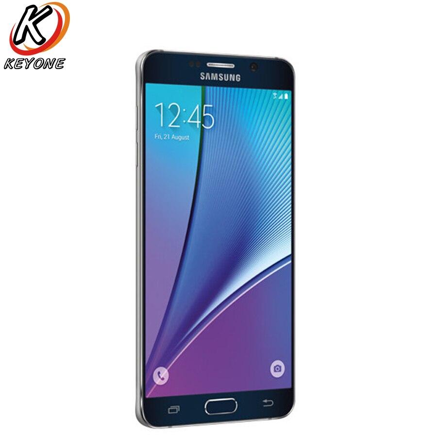 D'origine Verizon Version Samsung GALAXY Note5 Note 5 N920v 4g LTE Mobile Téléphone Octa base 5.7 16MP Caméra RAM 4 gb ROM 32 gb Téléphone