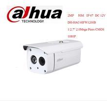 DAHUA HDCVI Bullet Camera 1/2.7″ 2Megapixel CMOS 1080P IR 50M IP66 DH-HAC-HFW1200B security camera