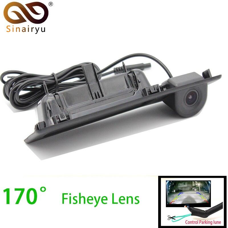 Sinairyu 170 Degree Fisheye Lens Vehicle Rear View Camera For BMW 3 Series 5 Series X3 F10 F25 Car Reverse Backup Parking Camera стоимость