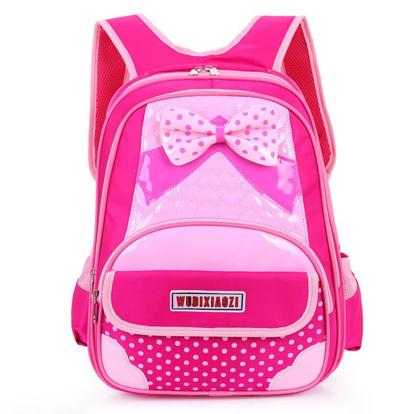 Waterproof Children School Bags for Girls Cartoon Backpack Girl Satchel Schoolbag Kids Book Bag Mochilas