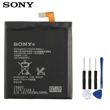 Original SONY Battery For Xperia C3 S55T S55U LIS1546ERPC 2500mAh Authentic Phone Replacement