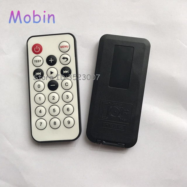US $12 87 18% OFF|20pcs/lot 38khz MCU learning board IR remote control  Infrared decoder for protocol remote control Best quality Free shipping-in