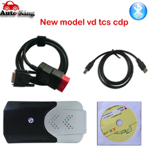 Новинка vci vd ds150e cdp,0 keygen vd TCS cdp pro светодиодные кабели для delphis autocome автомобильный Грузовик obd2 диагностический инструмент