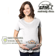 Pregnant Maternity T Shirts Short Sleeve Women Top for Summer Casual Pregnancy Clothes for Pregnant Women Maternity Clothes