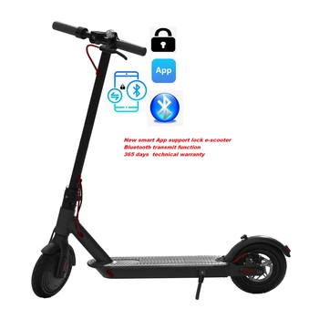 "SUPERTEFF EW6 new generation kugooPro App electric scooter 8.5"" e-scooter lock function color LCD display scooter loading 120kg"