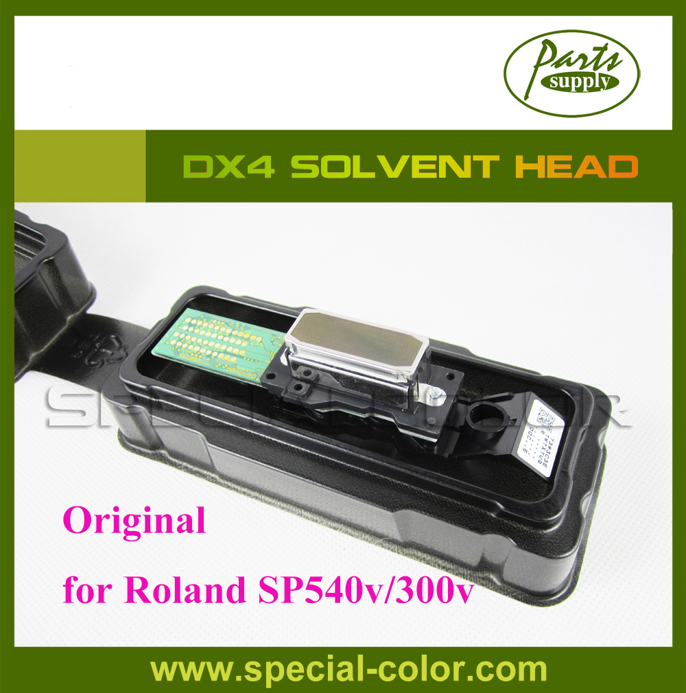 Origian DX4 Print Head for Roland SP540V/SP300V Solvent DX4 Printhead (Get 2pcs DX4 Small Damper free) new original dx4 solvent printhead for roland xj740 640 540 printer get 2pcs dx4 small damper as gift