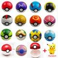 Juguetes de Figuras de Anime ABS PokeBall Poke Bola Súper Maestro Juguetes Figuras de Acción 13 unids/set Pokeball WJ118