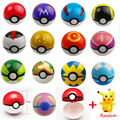 Poke Ball Figures ABS Anime PokeBall Toys Super Master Toys Pokeball Action Figures 13pcs/set WJ118