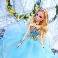 Dolls & Accessories Plastic/Cloth Toys With Necklace/Bracelet/Head Yarn/Sachet/Crown Wedding Handwork Girl Birthday Gift Toysuit