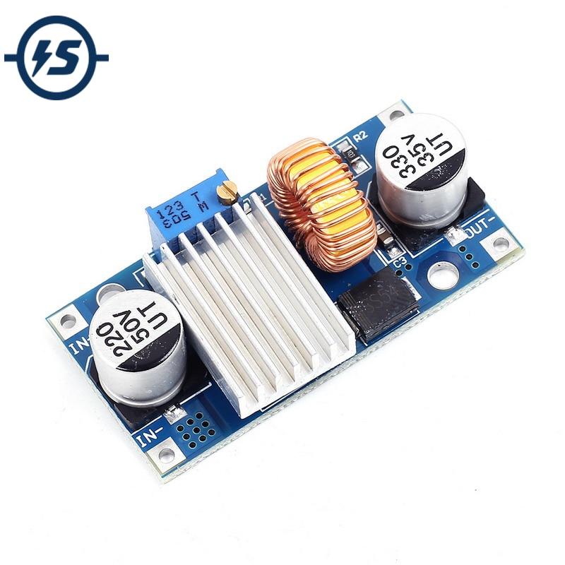 Регулируемый понижающий модуль питания, понижающий стабилизатор напряжения 5A 4 38 в до 1,25 36 в, модуль регулятора напряжения постоянного тока, XH M133|Интегральные схемы|   | АлиЭкспресс