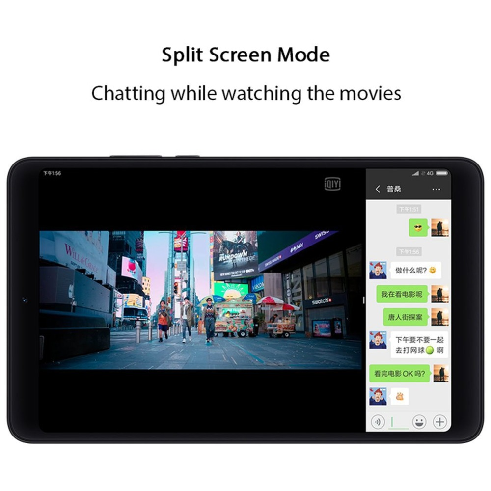 Xiao mi mi Pad 4 Comprimés 4 Snapdragon 660 AIE 8 ''16:10 Écran Tablet 13MP Arrière Caméra mi Pad 4 4 + 64 gb Multi-langue androed 8.0