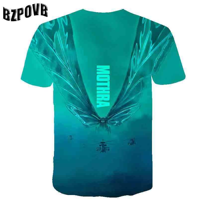 2019 3D короткий рукав Футболка с принтом творческий футболка мужские летние с коротким рукавом, стиль панк Футболка