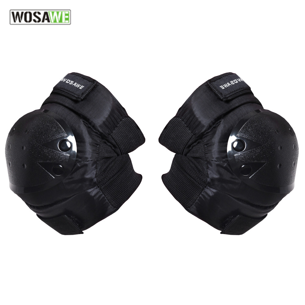0963291b14 4Pcs Outdoor Adults Sports Tactical Knee Elbow Protective Pads Skating  Skiing Climbing with Mesh Carry Case