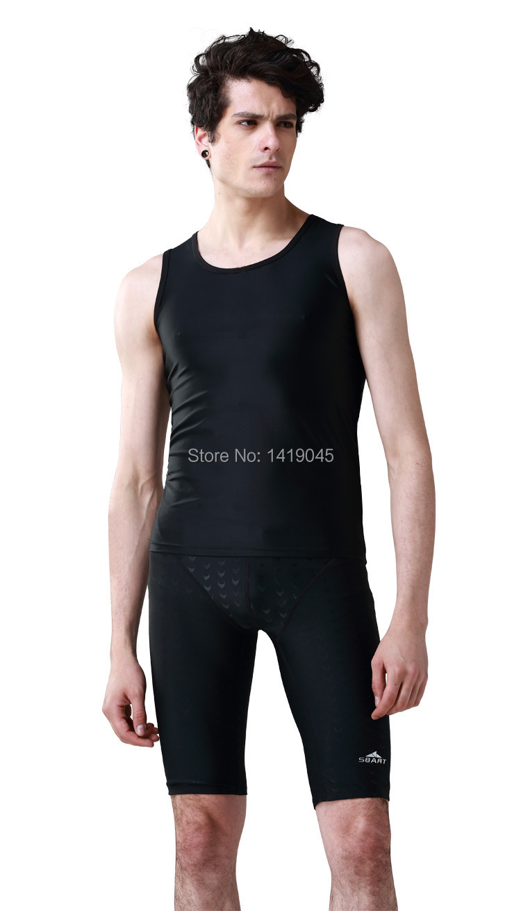Black t shirt with suit - Aliexpress Com Buy Sbart Upf 50 Tight Rash Vest Wet Suit Top Mens Rash Swim Shirt T Shirt Swimming Rashguard Swim Shirts From Reliable Rashguard Swim