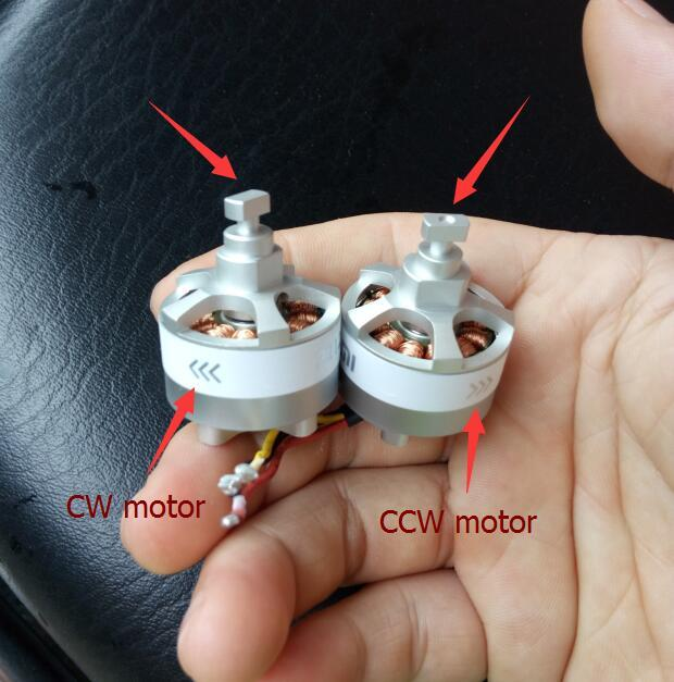 Xiaomi Mi Drone RC Quadcopter spare part 1080P/4K version CW CCW Original motor