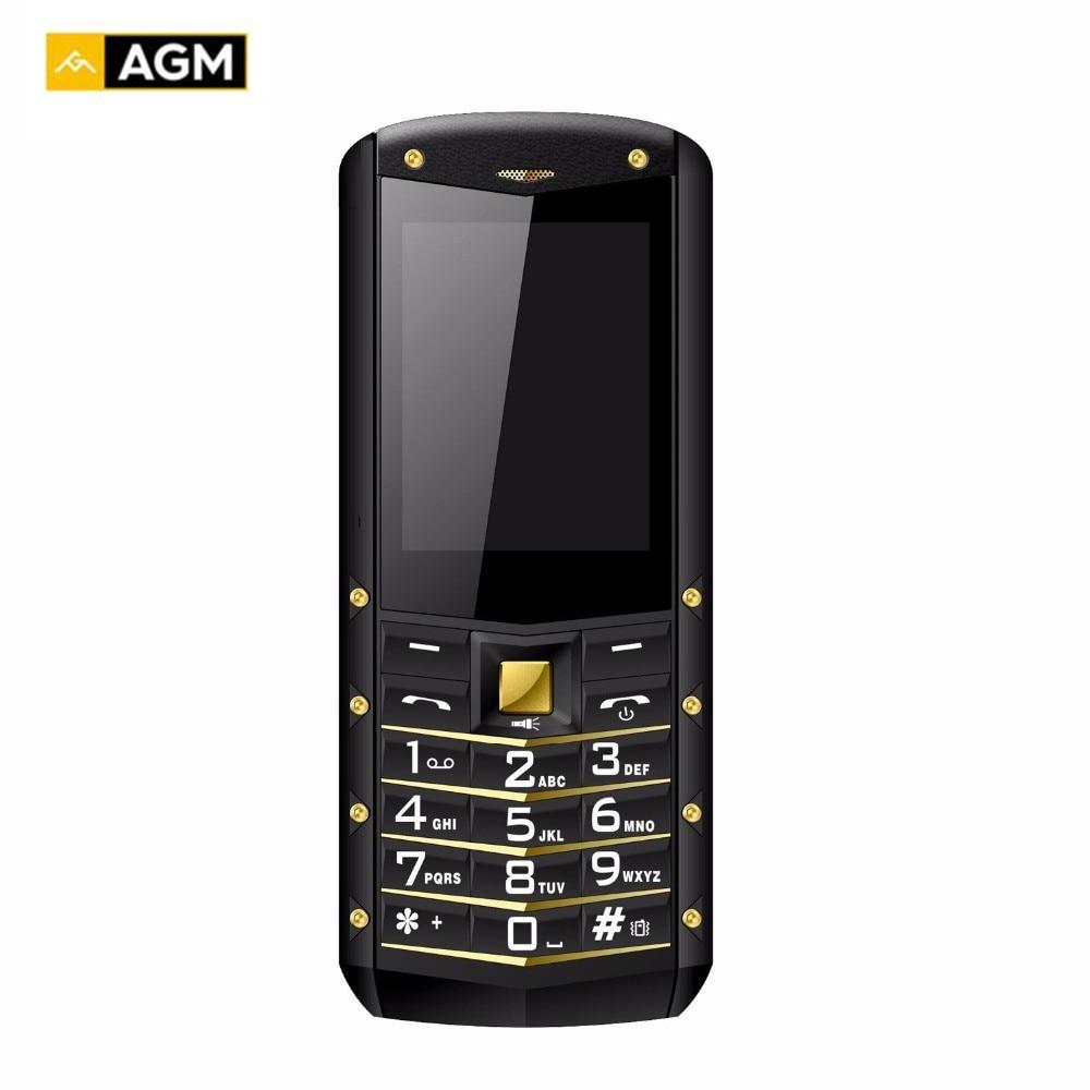 AGM originale M2 Impermeabile shockproof Cellulare Russo Saudita 2.4