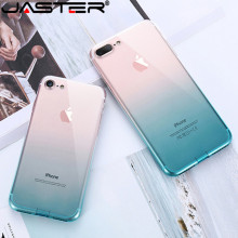 где купить JASTER For iPhone 6 6S iPhone 7 8 Plus Ultra Thin Cases for iPhone X XS Max XR Clear TPU Phone Cases For iPhone 5S 5 SE Fundas дешево
