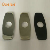 Beelee 10 Kitchen Sink Faucet Hole Cover Deck Plate Basin Escutcheon Brushed Nicke Tps BL001N